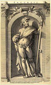 サートゥルヌス神(wikipediaより)
