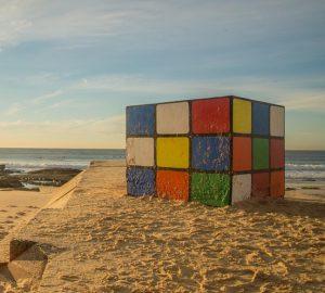 huge cube